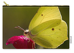 Carry-all Pouch featuring the photograph Brimstone 2 by Jouko Lehto