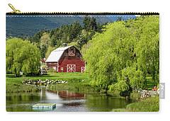 Brinnon Washington Barn Carry-all Pouch by Teri Virbickis