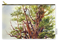 Bristle Cone Pine Carry-all Pouch by Bonnie Rinier