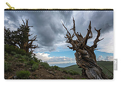 Bristlecone Pines Storm Clouds Carry-all Pouch by Scott Cunningham