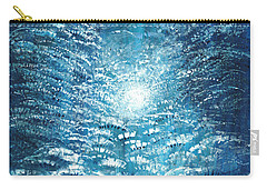 Carry-all Pouch featuring the painting Brite Nite by Holly Carmichael