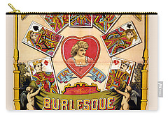 British Blonde Burlesque Troupe Carry-all Pouch by Carsten Reisinger