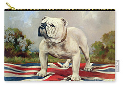 English Bulldog Carry-all Pouches