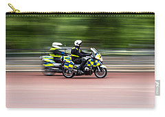 British Police Motorcycle Carry-all Pouch