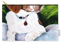 Brittany Spaniel Carry-all Pouch