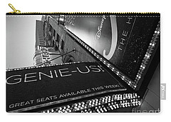 Carry-all Pouch featuring the photograph Broadway  -27868-bw by John Bald