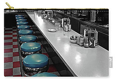 Broadway Diner Chairs Carry-all Pouch by Christopher McKenzie