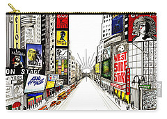 Broadway Dreamin' Carry-all Pouch