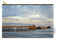 Broken Boat, Ss Palo Alto Carry-all Pouch by Amelia Racca