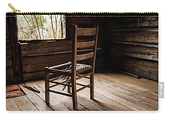 Carry-all Pouch featuring the photograph Broken Chair by Doug Camara