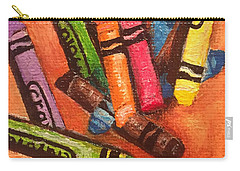 Broken Crayons Carry-all Pouch