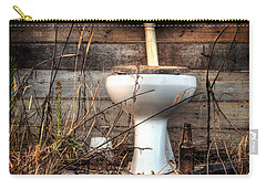 Broken Toilet Carry-all Pouch by Carlos Caetano