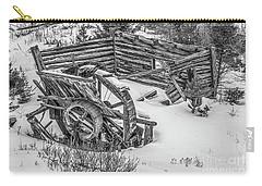 Broken Water Wheel Carry-all Pouch