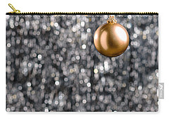 Carry-all Pouch featuring the photograph Bronze Christmas  by Ulrich Schade