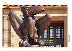Bronze Jayhawk Carry-all Pouch