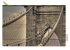 Brooklyn Bridge Carry-all Pouch by David Bearden