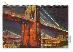 Brooklyn Bridge Carry-all Pouch by Dragica  Micki Fortuna
