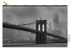 Brooklyn Bridge In A Storm 2 Carry-all Pouch