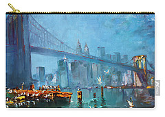 Brooklyn Bridge Carry-all Pouch by Ylli Haruni