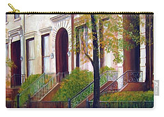 Brooklyn Brownstone Corridor 2 Carry-all Pouch