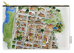 Brooklyn Heights Map Carry-all Pouch