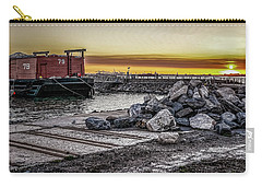 Brooklyn Waterfront Sunset Carry-all Pouch
