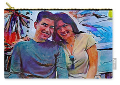 Brother And Sister Love Carry-all Pouch
