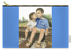 Brotherly Love Carry-all Pouch by Ferrel Cordle
