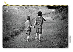 Brotherly Love Carry-all Pouch by Lynn Bolt