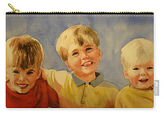 Brothers Carry-all Pouch by Marilyn Jacobson