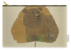 Brow Bear #2 Carry-all Pouch