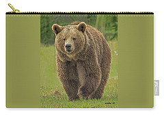 Brown Bear 1 Carry-all Pouch