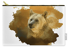 Brown Bear Carry-all Pouch by Steven Richardson