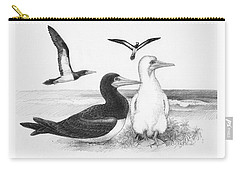 Brown Boobies Carry-all Pouch