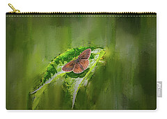Brown Butterfly #h6 Carry-all Pouch