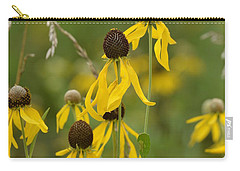 Carry-all Pouch featuring the photograph Brown-eyed Susan by Maria Urso