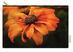 Carry-all Pouch featuring the photograph Brown Eyed Susan by Mary Jo Allen