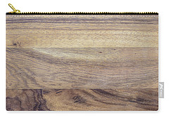 Brown Rubber Wooden Tray Handmade In Asia Carry-all Pouch by Jingjits Photography