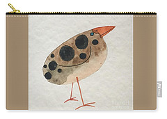 Brown Spotted Bird Carry-all Pouch