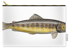 Brown Trout - Autochthonous - Indigenous - Salmo Trutta Morpha Fario - Salmo Trutta Fario Carry-all Pouch