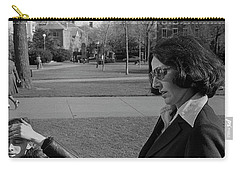 Brown University Student And His Mother, 1975 Carry-all Pouch