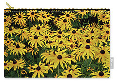 Browneyed Susans Carry-all Pouch by Mikki Cucuzzo