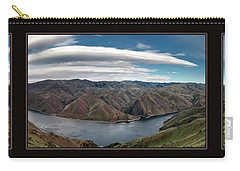 Carry-all Pouch featuring the photograph Brownlee Triptych by Leland D Howard