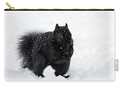 Carry-all Pouch featuring the photograph Brrrrrr - 365-282 by Inge Riis McDonald