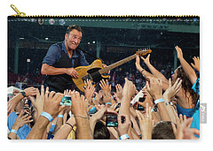 Bruce Springsteen At Fenway Park Carry-all Pouch
