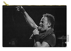 Bruce Springsteen In Cleveland Carry-all Pouch