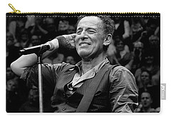 Bruce Springsteen - Pittsburgh Carry-all Pouch by Jeff Ross