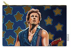 Rock And Roll Bruce Springsteen Carry-All Pouches