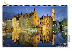 Brugge Twilight Carry-all Pouch by JR Photography