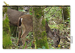 Carry-all Pouch featuring the photograph Brunching by I'ina Van Lawick